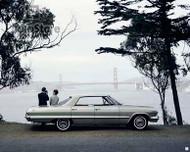 1963 Chevrolet Impala 4-Door Sport Sedan Poster