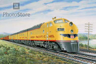 1947 EMD F-Series Diesel Electric Art Poster