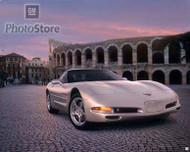 2002 Chevrolet Corvette Coupe Poster