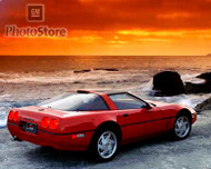 1990 Chevrolet Corvette ZR-1 Coupe Poster