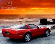 1990 Chevrolet Corvette ZR-1 Coupe Poster