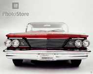 1960 Pontiac Bonneville Vista Hardtop Poster
