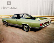 1971 GMC Sprint Sedan Pickup Poster