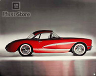 1956 Chevrolet Corvette Convertible II Poster