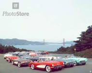 1956 Chevrolet Corvette Coupe Models Poster