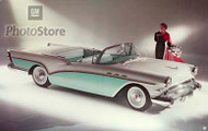 1957 Buick Special Convertible Poster