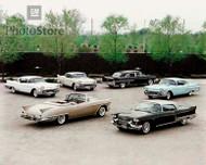 1958 Cadillac Models Poster