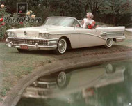 1958 Buick Century Convertible Poster