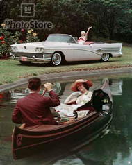 1958 Buick Century Convertible II Poster