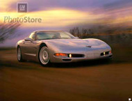 1999 Chevrolet Corvette Coupe Poster