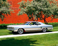 1963 Buick Riviera Show Car Poster