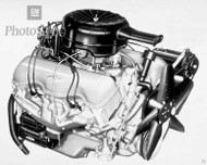 1958 Chevrolet Turbo-Thrust V8 Poster