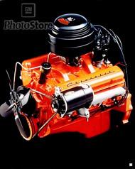 1955 Chevrolet V8 Engine (Restored) Poster