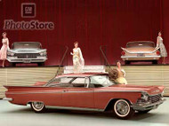 1959 Buick Invicta Hardtop Coupe Models Poster