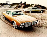 1972 Oldsmobile Cutlass Models Poster