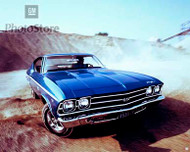 1969 Chevrolet Chevelle SS 396 Coupe II Poster