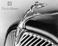 1933 Oldsmobile L-Series Hood Ornament Poster