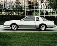 1987 Chevrolet Monte Carlo SS Aero Coupe Poster