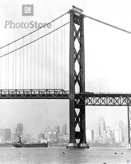 1956 Ambassador Bridge - South Tower Poster