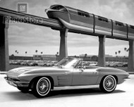 1963 Chevrolet Corvette Sting Ray Poster