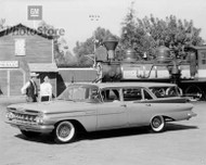 1959 Chevrolet Brookwood Station Wagon Poster