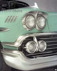 1958 Chevrolet Bel Air Impala Hardtop Poster