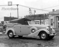 1934 Buick Series 60 Convertible Phaeton Poster