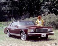 1978 Chevrolet Monte Carlo Landau Coupe Poster