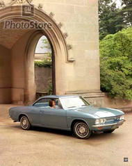 1966 Chevrolet Corvair Corsa Sport Coupe Poster