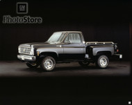 1980 Chevrolet K-10 Silverado Stepside 4x4 Pickup {pster
