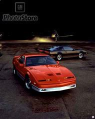 1987 Pontiac Firebird Models Poster