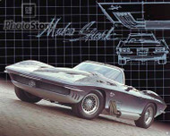 1963 Chevrolet Corvette Mako Shark I Poster