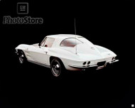 1963 Chevrolet Corvette Sting Ray Coupe Poster