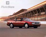 1992 Cadillac Allante Pace Car Poster