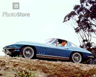 1965 Chevrolet Corvette Sting Ray Coupe Poster