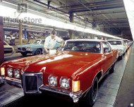 1970 Pontiac Grand Prix Production Poster