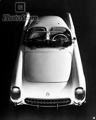 1953 Chevolet Corvette Roadster Poster