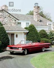 1960 Pontiac Bonneville Convertible Poster