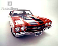 1970 Chevrolet Chevelle SS 396 Coupe II Poster