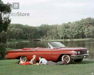 1960 Oldsmobile Super 88 Convertible Poster