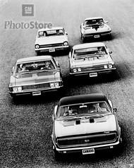 1967 Chevrolet Models Poster