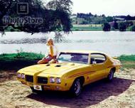 1970 Pontiac GTO Judge Hardtop Coupe Poster