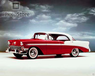 1956 Chevrolet Bel Air Sport Sedan Poster