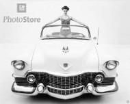 1954 Cadillac Series 62 Convertible Poster