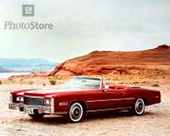 1976 Cadillac Fleetwood Eldorado II Poster