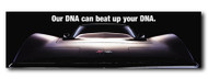 Corvette Metal Sign - Our DNA can beat up your DNA.