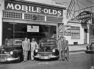 1946 Oldsmobile Poster