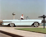 1957 Pontiac Star Chief Convertible Outside Poster
