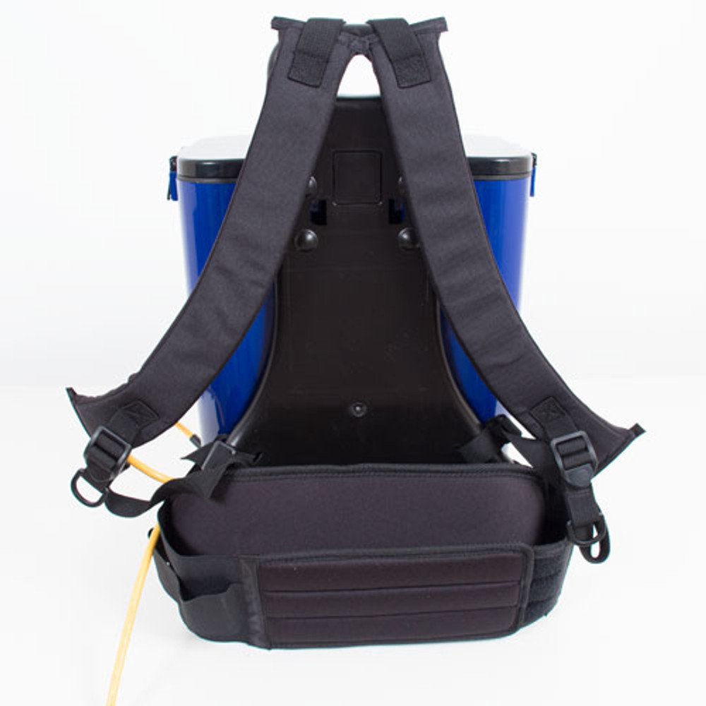 Ergonomic and comfortable padded straps for support.