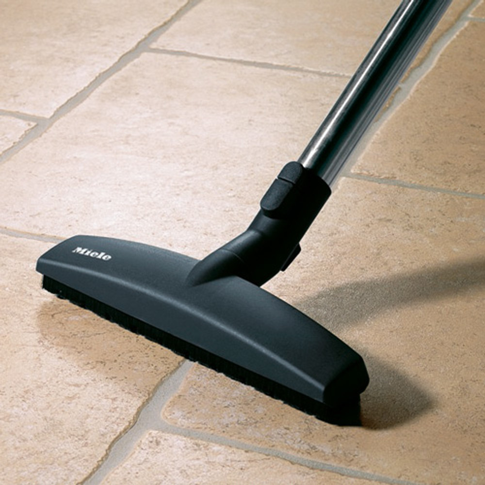 Smooth floor tool gently cleans all hard floor types.